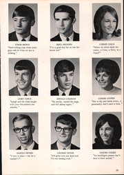 Page 17, 1969 Edition, Fulton High School - Talespin Yearbook (Middleton, MI) online yearbook collection
