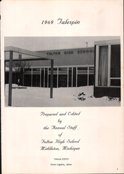 Page 5, 1969 Edition, Fulton High School - Talespin Yearbook (Middleton, MI) online yearbook collection