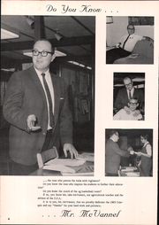 Page 8, 1969 Edition, Fulton High School - Talespin Yearbook (Middleton, MI) online yearbook collection