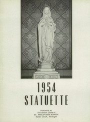 Page 6, 1954 Edition, St Philip High School - Statuette Yearbook (Battle Creek, MI) online yearbook collection