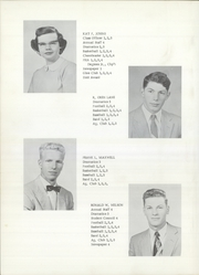 Page 16, 1956 Edition, Webberville High School - Spartan Yearbook (Webberville, MI) online yearbook collection