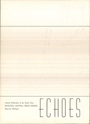 Page 4, 1959 Edition, Hancock Central High School - Echoes Yearbook (Hancock, MI) online yearbook collection