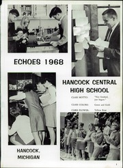 Page 5, 1968 Edition, Hancock Central High School - Echoes Yearbook (Hancock, MI) online yearbook collection