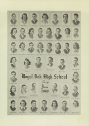 Page 11, 1940 Edition, Royal Oak High School - Oak Yearbook (Royal Oak, MI) online yearbook collection