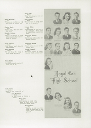 Page 9, 1942 Edition, Royal Oak High School - Oak Yearbook (Royal Oak, MI) online yearbook collection