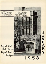 Page 5, 1953 Edition, Royal Oak High School - Oak Yearbook (Royal Oak, MI) online yearbook collection