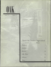 Page 5, 1960 Edition, Royal Oak High School - Oak Yearbook (Royal Oak, MI) online yearbook collection