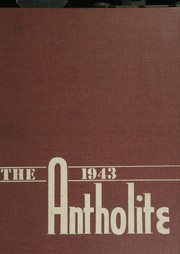St Anthony High School - Antholite Yearbook (Detroit, MI) online yearbook collection, 1943 Edition, Page 1