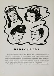 Page 8, 1943 Edition, St Anthony High School - Antholite Yearbook (Detroit, MI) online yearbook collection
