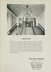 Page 5, 1944 Edition, St Anthony High School - Antholite Yearbook (Detroit, MI) online yearbook collection