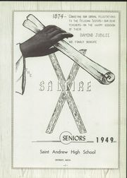 Page 7, 1949 Edition, St Andrew High School - Saltire Yearbook (Detroit, MI) online yearbook collection