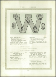 Page 20, 1928 Edition, Wakefield High School - Echo Yearbook (Wakefield, MI) online yearbook collection