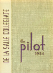 1954 Edition, De La Salle Collegiate Yearbook - Pilot Yearbook (Detroit, MI)