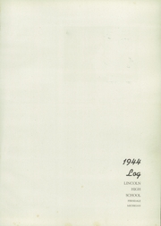 Page 5, 1944 Edition, Lincoln High School - President Yearbook (Ferndale, MI) online yearbook collection