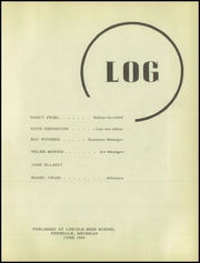 Page 5, 1949 Edition, Lincoln High School - President Yearbook (Ferndale, MI) online yearbook collection