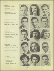 Page 9, 1949 Edition, Lincoln High School - President Yearbook (Ferndale, MI) online yearbook collection