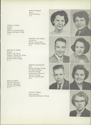 Page 11, 1954 Edition, Camden Frontier High School - Redskin Yearbook (Camden, MI) online yearbook collection
