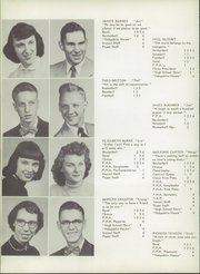 Page 16, 1954 Edition, Camden Frontier High School - Redskin Yearbook (Camden, MI) online yearbook collection