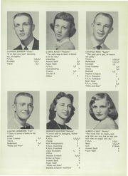 Page 17, 1956 Edition, Camden Frontier High School - Redskin Yearbook (Camden, MI) online yearbook collection
