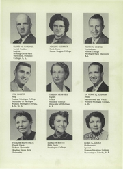 Page 7, 1956 Edition, Camden Frontier High School - Redskin Yearbook (Camden, MI) online yearbook collection