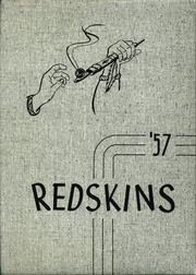 Camden Frontier High School - Redskin Yearbook (Camden, MI) online yearbook collection, 1957 Edition, Page 1