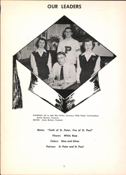 Page 10, 1951 Edition, Saints Peter and Paul High School - Yearbook (Saginaw, MI) online yearbook collection