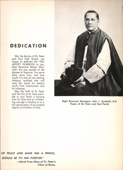 Page 7, 1951 Edition, Saints Peter and Paul High School - Yearbook (Saginaw, MI) online yearbook collection