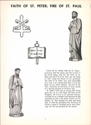 Page 9, 1951 Edition, Saints Peter and Paul High School - Yearbook (Saginaw, MI) online yearbook collection