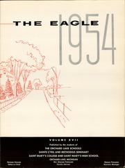 Page 5, 1954 Edition, St Mary Preparatory High School - Eagle Yearbook (Orchard Lake, MI) online yearbook collection