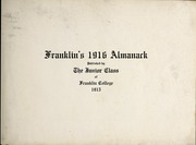 Page 7, 1916 Edition, Franklin College - Almanack Yearbook (Franklin, IN) online yearbook collection