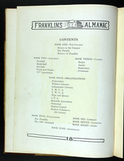 Page 14, 1918 Edition, Franklin College - Almanack Yearbook (Franklin, IN) online yearbook collection