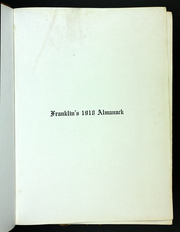Page 7, 1918 Edition, Franklin College - Almanack Yearbook (Franklin, IN) online yearbook collection