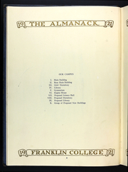 Page 10, 1920 Edition, Franklin College - Almanack Yearbook (Franklin, IN) online yearbook collection