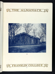 Page 13, 1920 Edition, Franklin College - Almanack Yearbook (Franklin, IN) online yearbook collection