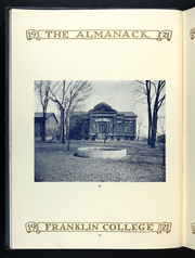 Page 14, 1920 Edition, Franklin College - Almanack Yearbook (Franklin, IN) online yearbook collection