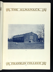 Page 15, 1920 Edition, Franklin College - Almanack Yearbook (Franklin, IN) online yearbook collection