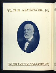 Page 8, 1920 Edition, Franklin College - Almanack Yearbook (Franklin, IN) online yearbook collection