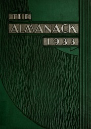 Franklin College - Almanack Yearbook (Franklin, IN) online yearbook collection, 1933 Edition, Page 1