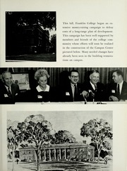 Page 15, 1967 Edition, Franklin College - Almanack Yearbook (Franklin, IN) online yearbook collection