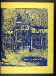 Page 1, 1971 Edition, Franklin College - Almanack Yearbook (Franklin, IN) online yearbook collection