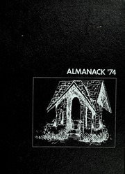 Page 1, 1974 Edition, Franklin College - Almanack Yearbook (Franklin, IN) online yearbook collection