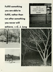 Page 10, 1974 Edition, Franklin College - Almanack Yearbook (Franklin, IN) online yearbook collection