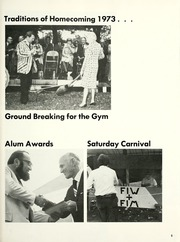 Page 13, 1974 Edition, Franklin College - Almanack Yearbook (Franklin, IN) online yearbook collection