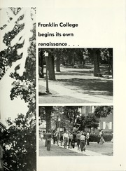Page 7, 1974 Edition, Franklin College - Almanack Yearbook (Franklin, IN) online yearbook collection