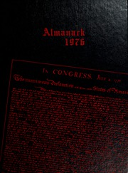 1976 Edition, Franklin College - Almanack Yearbook (Franklin, IN)