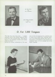 Page 16, 1958 Edition, Western Michigan Christian High School - Torch Yearbook (Muskegon, MI) online yearbook collection