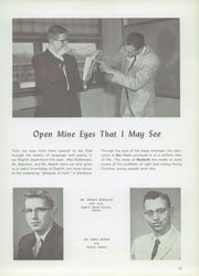 Page 17, 1958 Edition, Western Michigan Christian High School - Torch Yearbook (Muskegon, MI) online yearbook collection