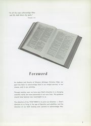 Page 9, 1958 Edition, Western Michigan Christian High School - Torch Yearbook (Muskegon, MI) online yearbook collection