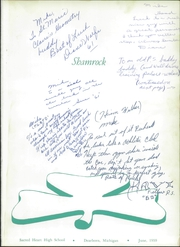 Page 5, 1959 Edition, Sacred Heart High School - Shamrock Yearbook (Dearborn, MI) online yearbook collection