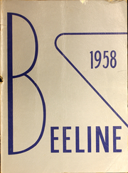 1958 Edition, North Huron High School - Beeline Yearbook (Kinde, MI)